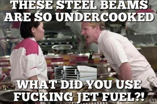 Okay, lets settle this for one last time: Can jet fuel actually melt steel beams?