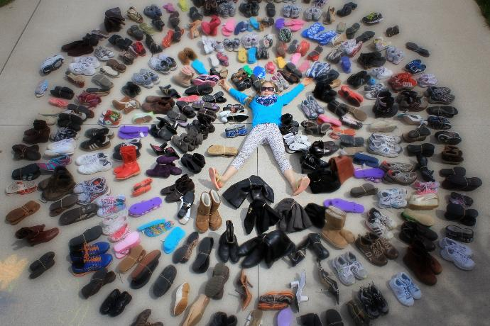 How much shoes do you have?