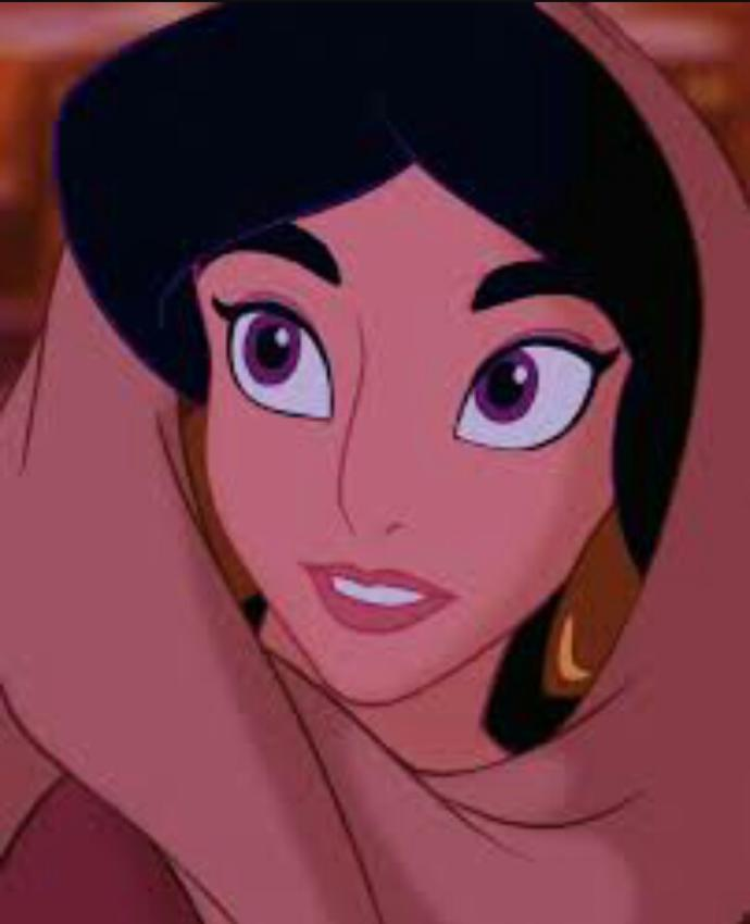 Does this girl look like princess jasmine? I don't think so?