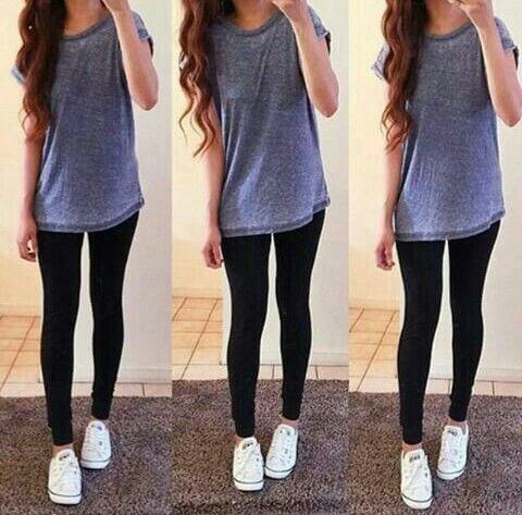 COLLEGE Guys, what do you think when a girl wears something like this to class every day?