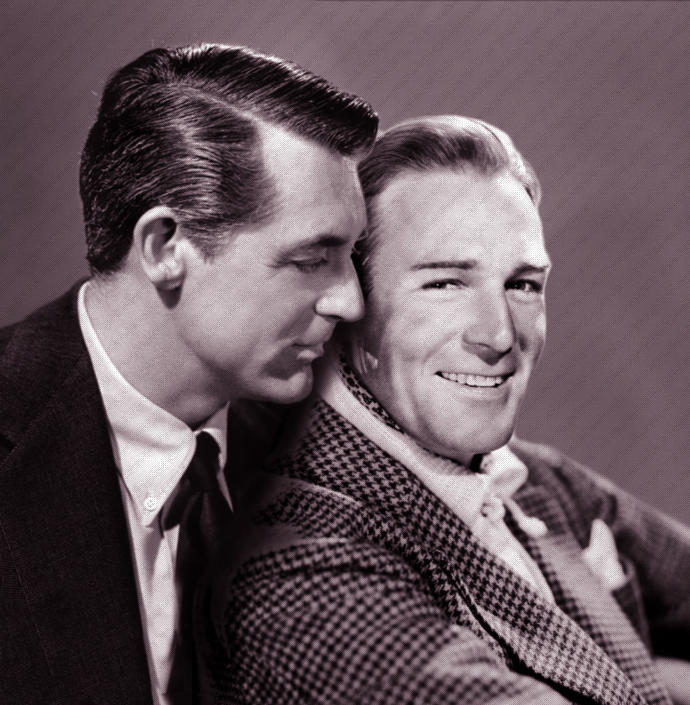 Was public affection between two men more accepting back then, than it is now?