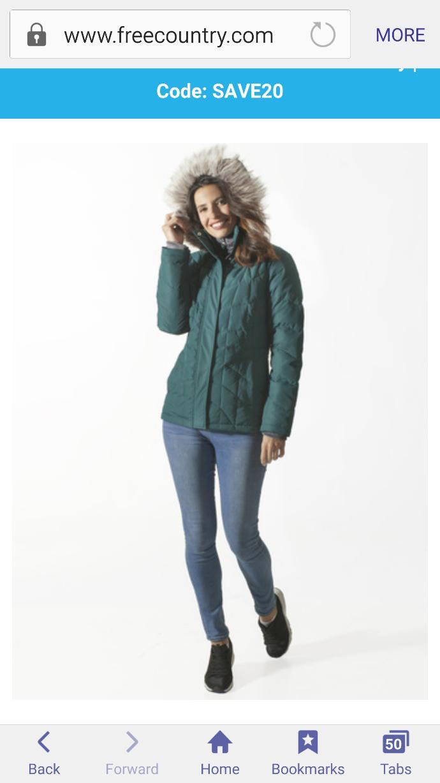 Which coat looks prettier? Also, pls diregard the color. Thanks......???