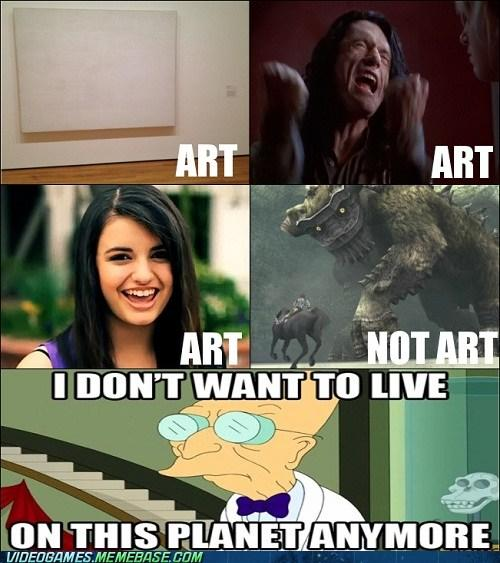 Do you agree that Video games are Art?