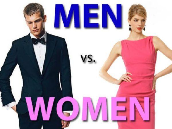 Who is judged more harshly in society? Men or Women?