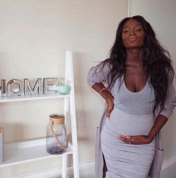 Who was the prettiest while pregnant? Tika Sumpter or Nikki Perkins? You choose?