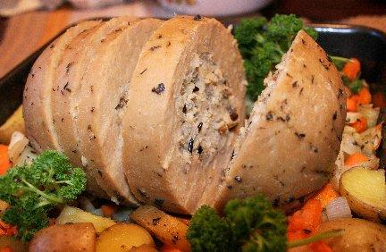 How would you react if you were at a friends place for holiday dinner and they served Tofurky instead of actual turkey?