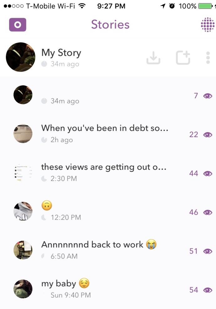 Highest amount of Snapchat views you've gotten?