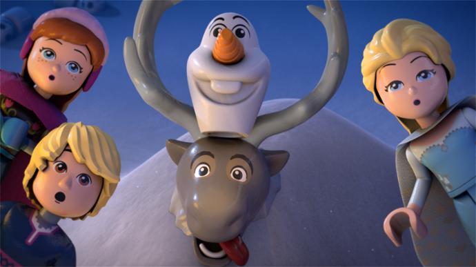 Would you check out this Frozen Lego movie?