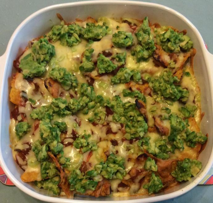 Who feels like sharing in my homemade Nachos :)?