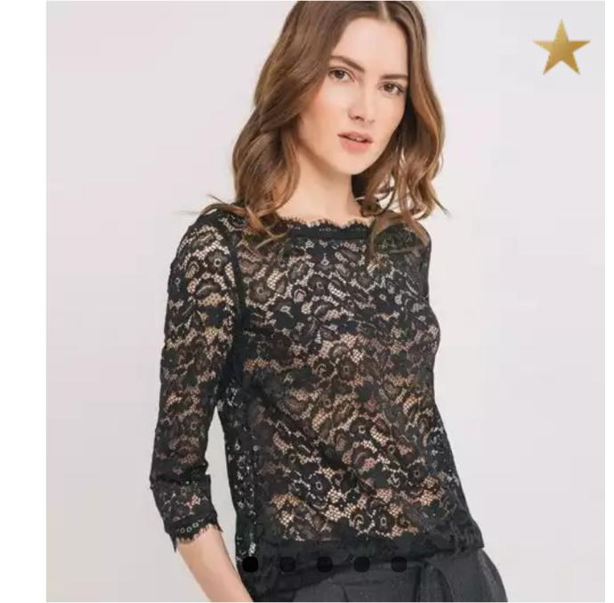 Do you think it's a good idea to wear a lace top ( black or white) and a black skirt to a new year party?