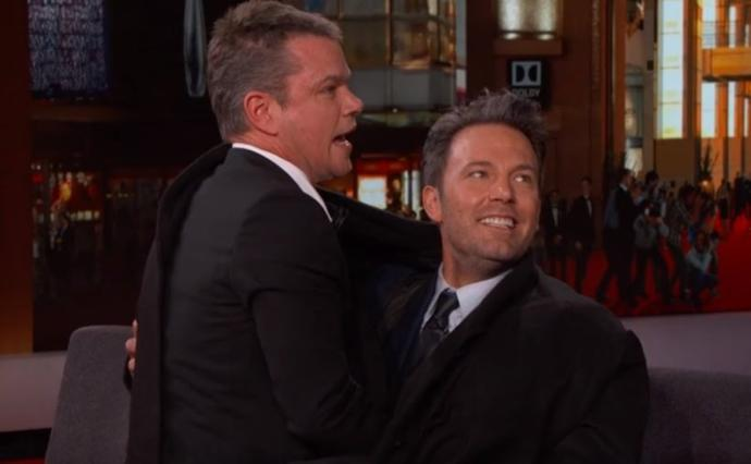 Between Matt Damon and Ben Affleck, who is the top and who is the bottom in their
