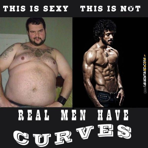 Do guys like curves