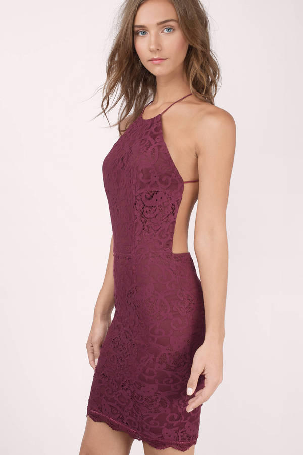 Which of these dresses is most suitable for clubbing?