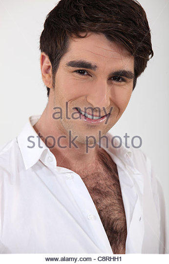 Is it inappropriate when chest hair is publically visible from top of shirt?