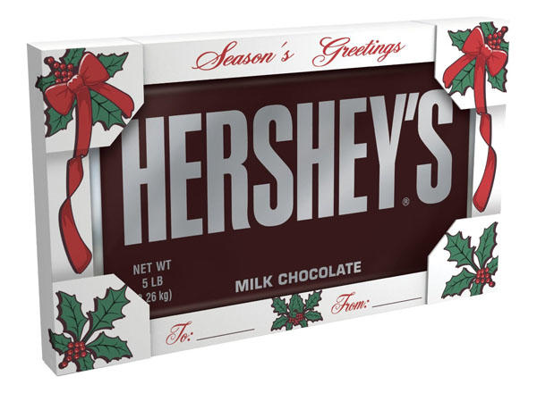 What would you think if your partner,family member,or friend bought you a 5 pound chocolate bar?