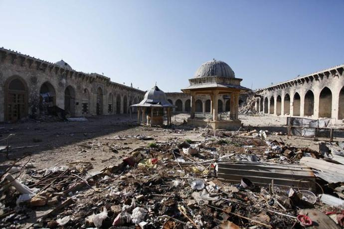 What are your thoughts about what's happening in Aleppo, Syria?