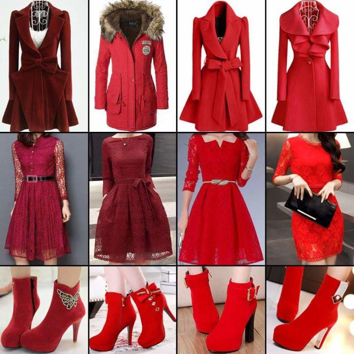 Girls, Give me red. Which you like to wear on Christmas 🎅?