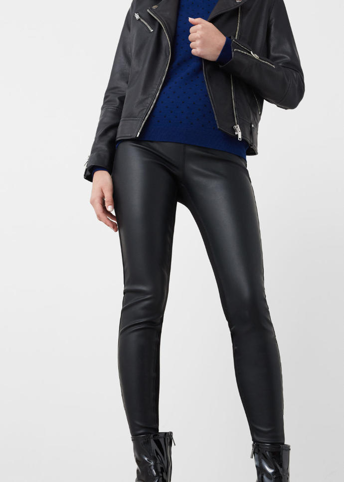 Should I get these leggings with fake leather panels?