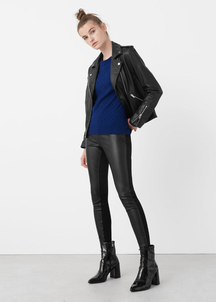 Should I get these leggings with fake leather panels ?