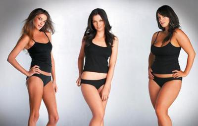 Which body type do men prefer