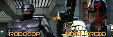 Judge Dredd or Robocop 😜?
