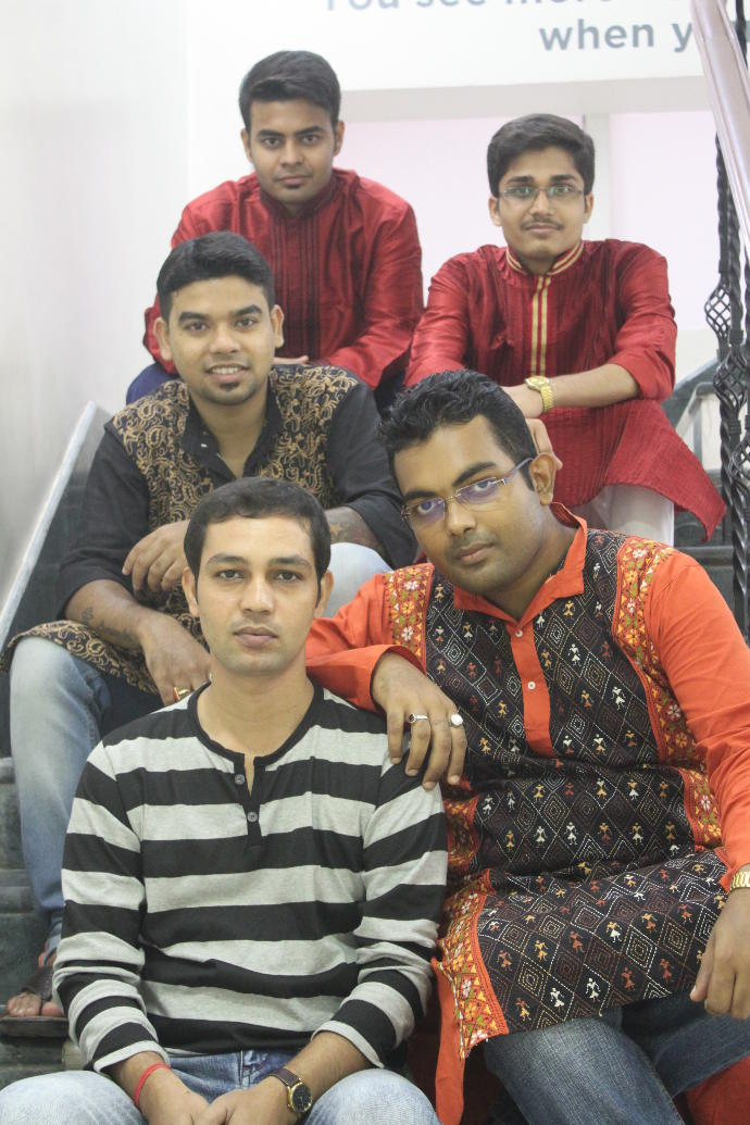 Rate me, the first white one is me, please rate me & tell me who looks better (we all indians) ?