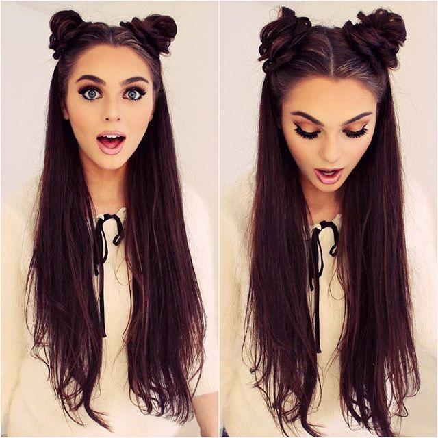 Guys, Do you think double buns are cute or unattractive?