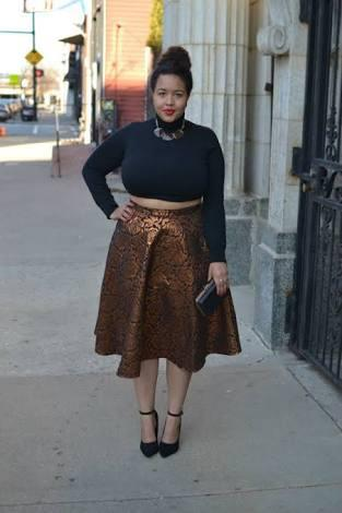 Do you think plus size women should wear crop tops?
