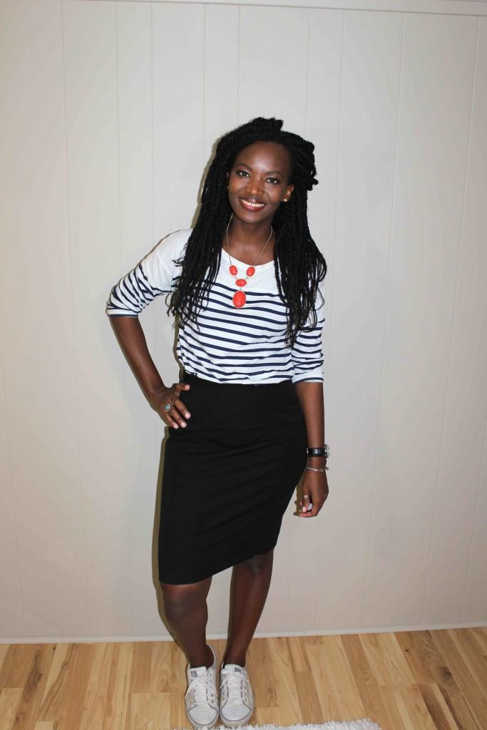 Midi/pencil skirts on young women?