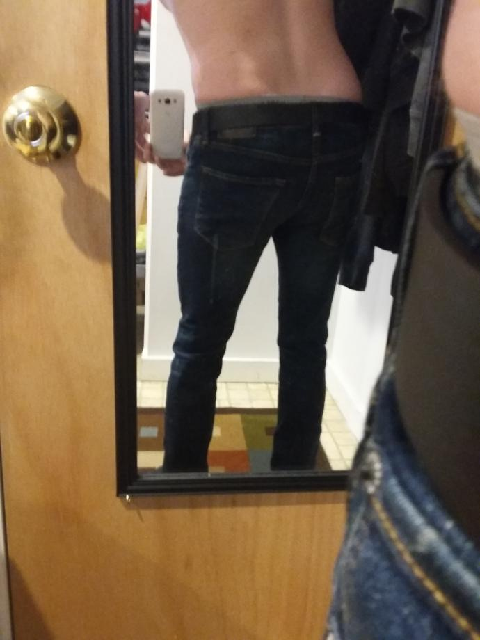 *Poll* Your opinion on these jeans on ME?