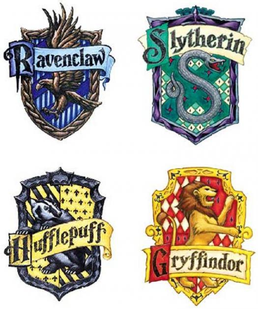 What Harry Potter house do you belong to?