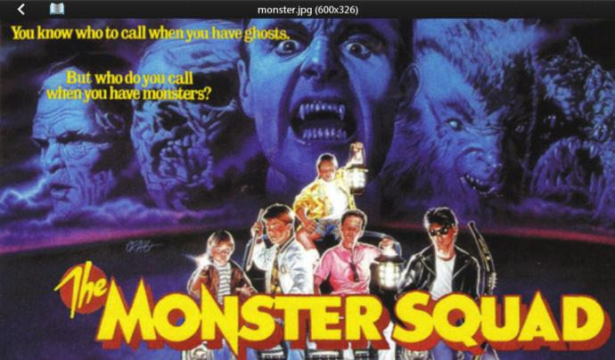 Have You Ever Watched The Movie Monster Squad (1987)?
