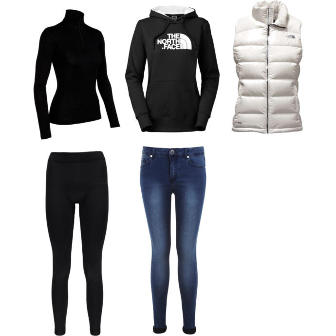 Girls, could you wear this outfit indoors all day and be comfy?