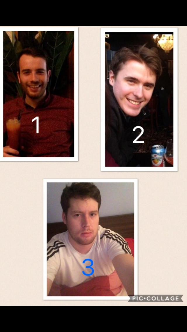 Which guy would you choose? Whether it be to hang with or to date?