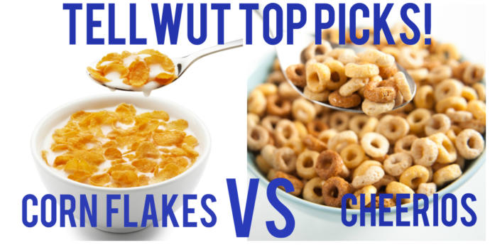Corn Flakes vs Cheerios? Which of these popular cereals is more Iconic?