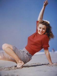 What was Marilyn Monroe's beauty secret?