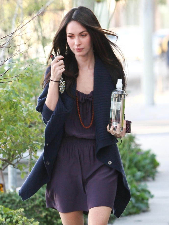 megan fox  tanned or pale