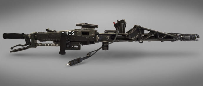 Aliens fans, what do you think of this Smart Gun replica?