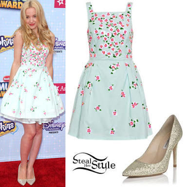 Do you know any teen celebrities with cute and girly style?