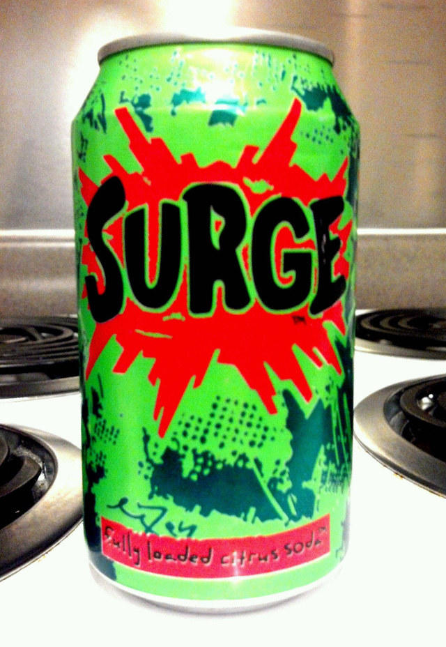Did anyone else hear that surge soda is back?