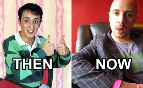 Do you remember steve from blues clues?