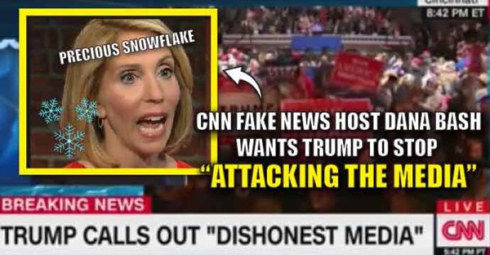 What are thoughts on Trump laying the Smackdown on CNN by calling them on their fake news history live on CNN?