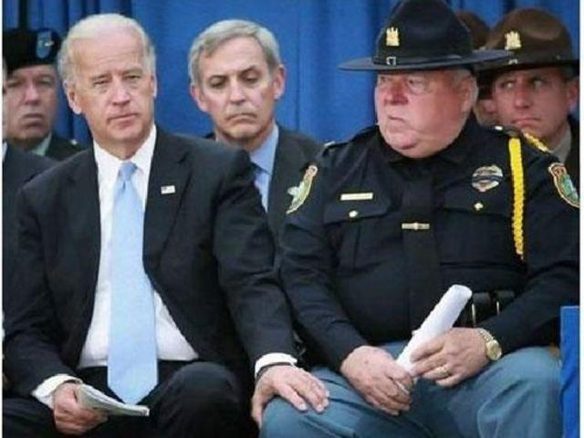 Did you guys see how Joe Biden touched Amal Clooney?