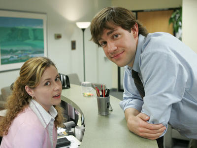 For those of you who've seen The Office, would you want a relationship like Jim and Pam's?