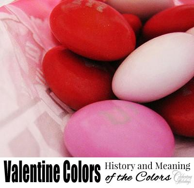 Do you know why the colors of red, white and pink are used for Valentine Day?