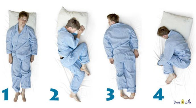 What's your most comfortable sleeping position?