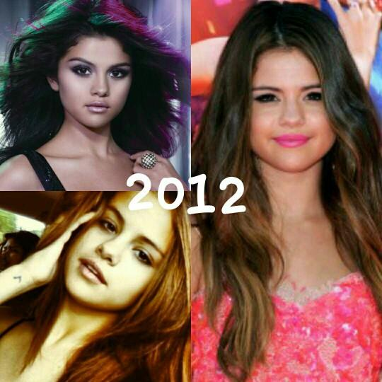 In which year fo you think selena looks the best??