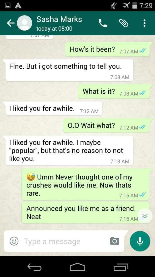 Was I OK ignoring my crush yesterday??