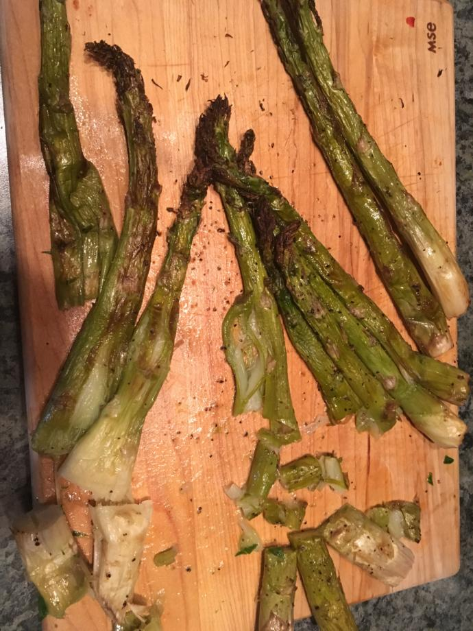 Did I over bake my asparagus (with PICTURE)?
