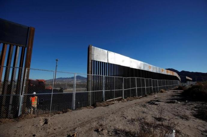 Is having a wall built between the United States and Mexico in two years feasible?